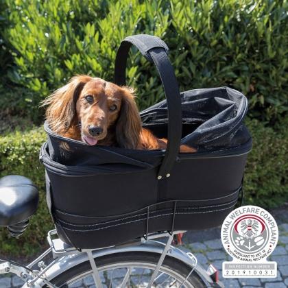 Fahrradkorb Long für breite Gepäckträger