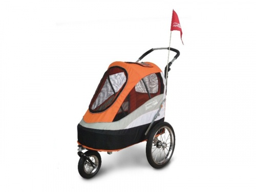 InnoPet® Hundebuggy Sporty Trailer orange