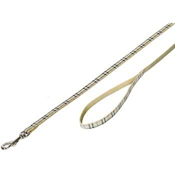 Leine Tartan beige L: 120 cm, B: 10 mm