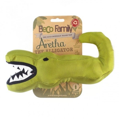 Beco Plush Toy Alligator Medium Hund