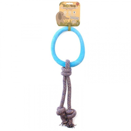 Beco Hoop on a Rope SMALL blue