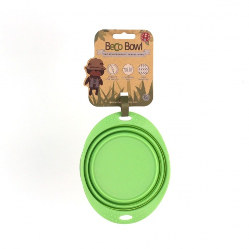 Beco 15cm Travel Bowl S green