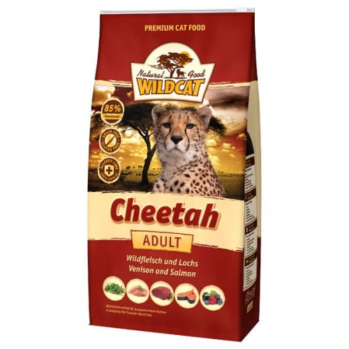 Wildcat 500g Cheetah Adult Wildfl.+Lachs