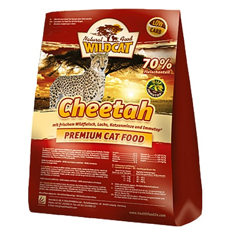 Wildcat 3kg Cheetah Adult Wildfl.+Lachs
