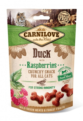 Cat Duck & Raspberry Crunchy Snack