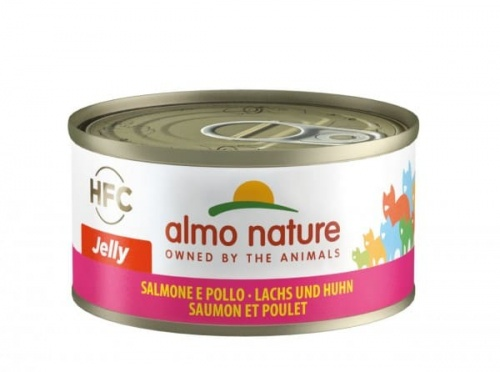 Almo 70g Jelly Lachs+Huhn