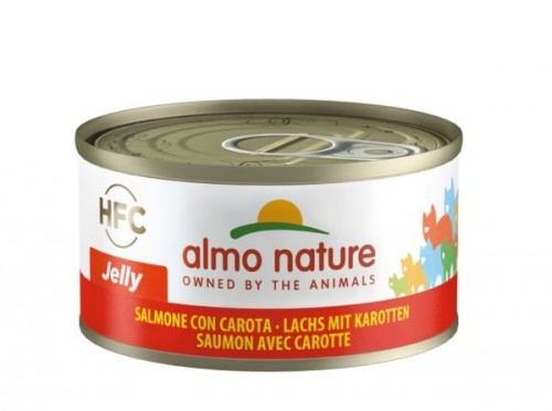 Almo 70g JELLY Lachs+Karotte