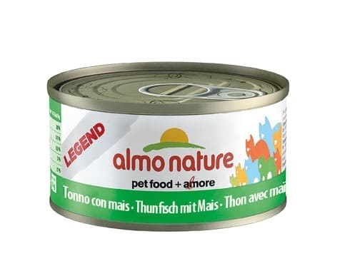 Almo 70g NATURAL Thunfisch+Mais