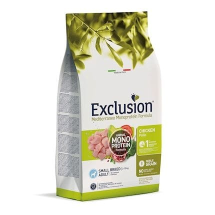 Exclusion Dog Adult Small Chicken 500g