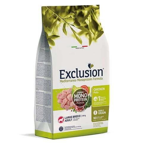 Exclusion Dog Adult Large Chicken 12kg
