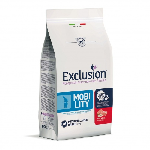 Exclusion Dog VET Adult Med&Lar Pork 2kg