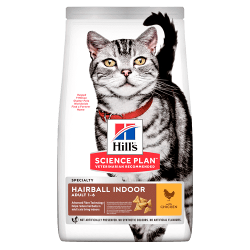 Hills Science Plan  Ad Hairball Huhn 1.5kg