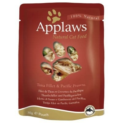 Applaws 70g Thunfischfilet+Garnele PB