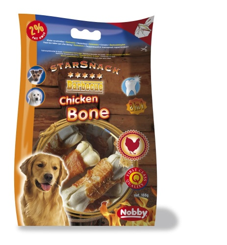 StarSnack Barbecue Chicken Bone  7,5 cm, 188 g,