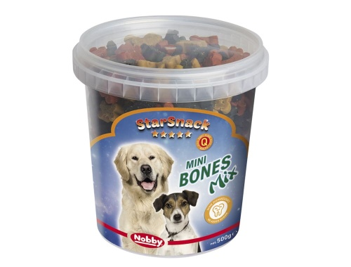 StarSnack Mini Bones Mix  Dose 500 g