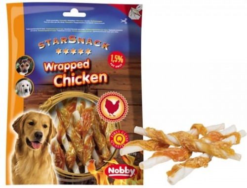 StarSnack Barbecue Wrapped Chicken  375 g