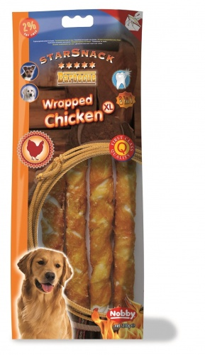 StarSnack Barbecue Wrapped Chicken  XL, 270 g