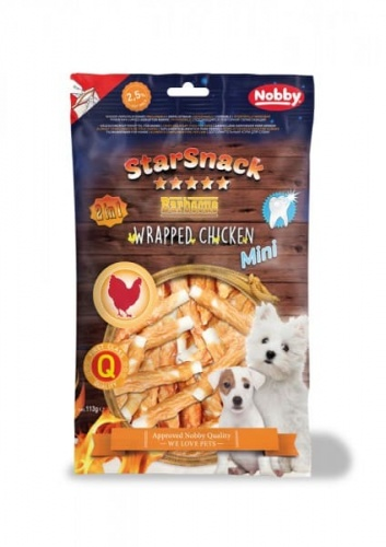 StarSnack Barbecue MINI Wrapped Chicken  ca. 7,5 cm