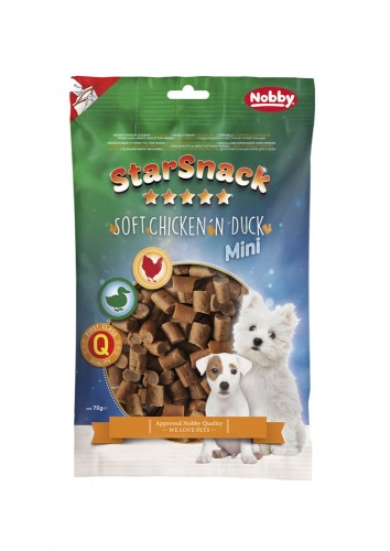 StarSnack MINI Chicken`n Duck  70 g