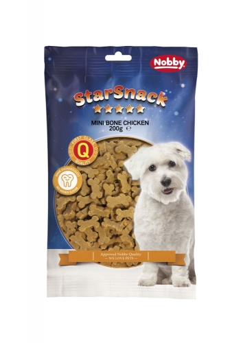 StarSnack Mini Bones Chicken  Tüte, 200 g