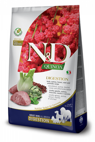 Farmina ND Quinoa  Digestion Lamm 2.5kg