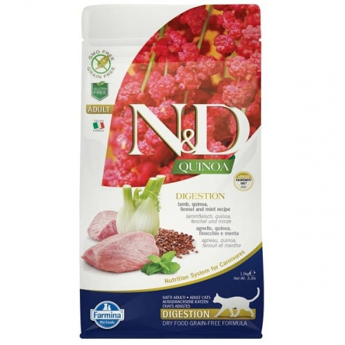 Farmina ND Quinoa  Digestion Lamm 1.5kg