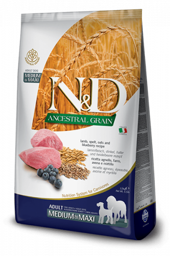 Farmina ND Ancestral Grain  Adult Med/Max Lamm 12kg