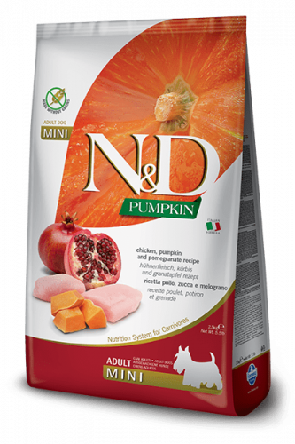 Farmina ND Pumpkin  Adult mini Huhn 800g