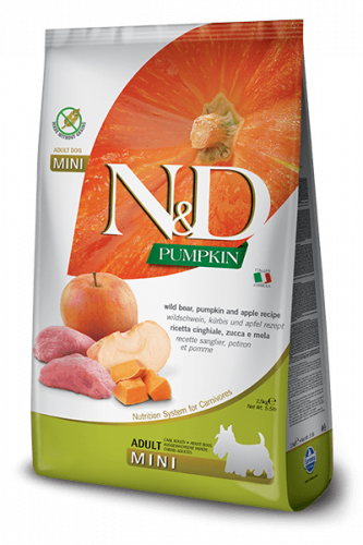 Farmina ND Pumpkin  Adult mini Wild 800g