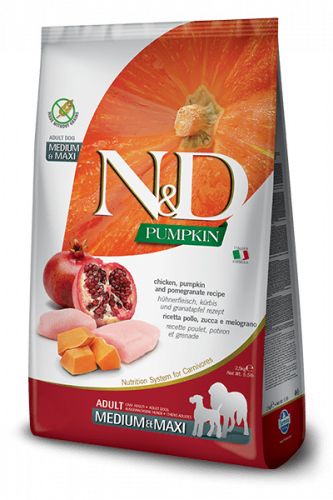 Farmina ND Pumpkin  Adult med/max Huhn 2.5kg