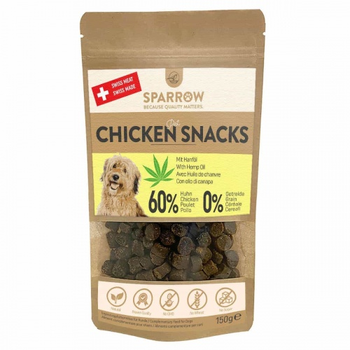 Chicken Snack mit CBD